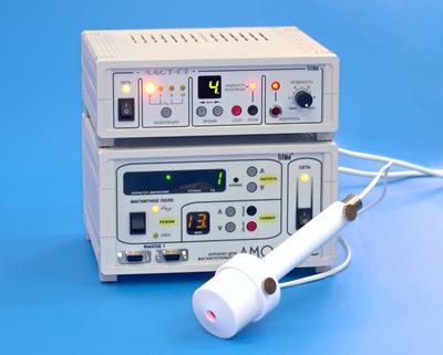 Переходник-адаптер для сочетанного магнито-лазерного воздействия аппаратами