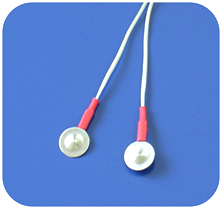 Парные плоские электроды для чрескожного воздействия на БАТ
